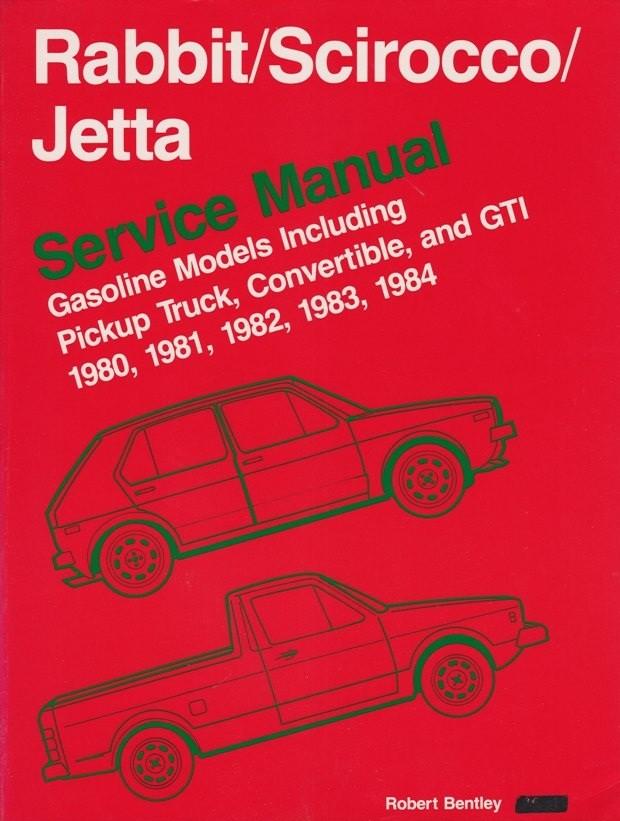 volkswagen rabbit scirocco jetta service manual 80 84 gasoline rh ellery com au 1983 VW Rabbit GTI 1983 VW Rabbit GTI