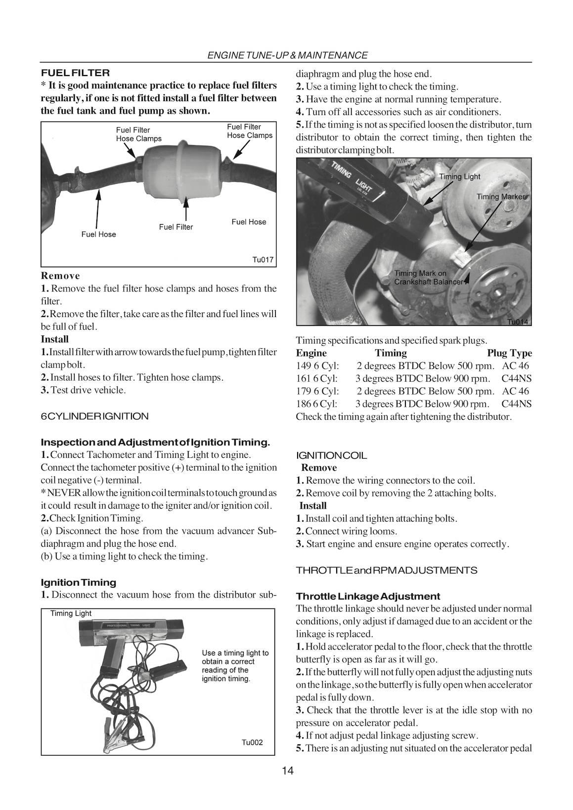 Holden Eh Hd Hr Repair Manual 1963