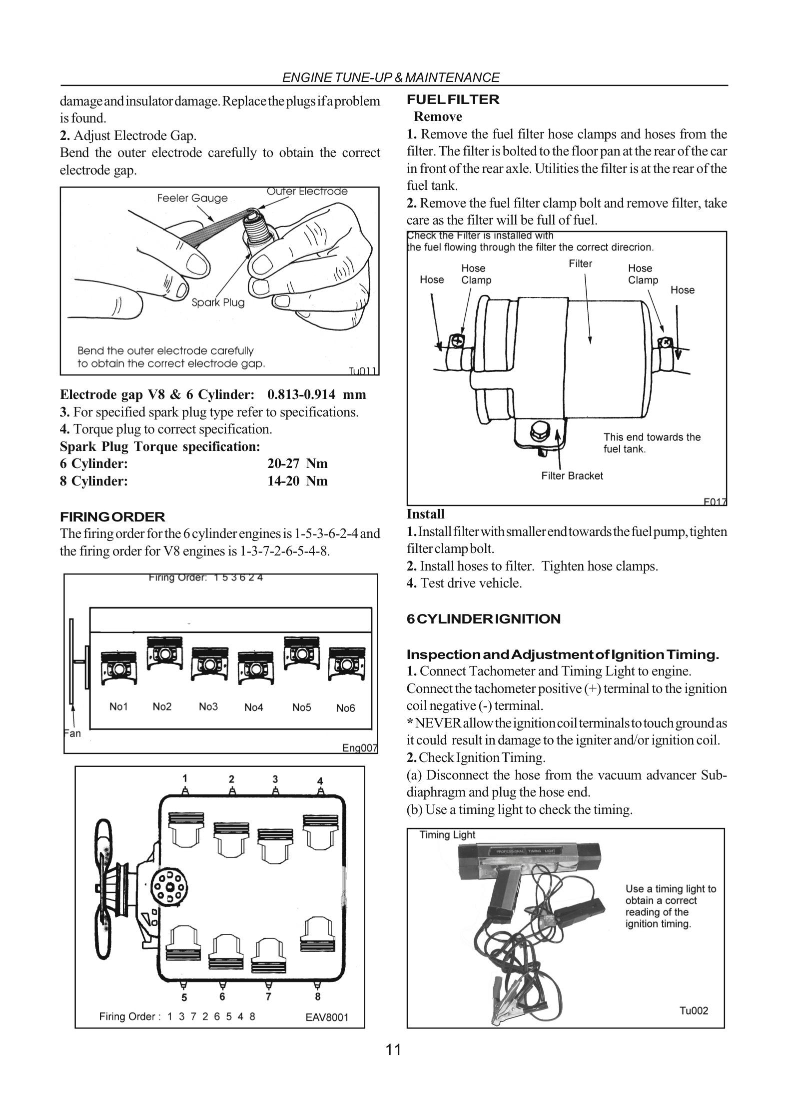 Ford Falcon  Fairlane Xa Xb Xc Abridged Factory Workshop Manual 72
